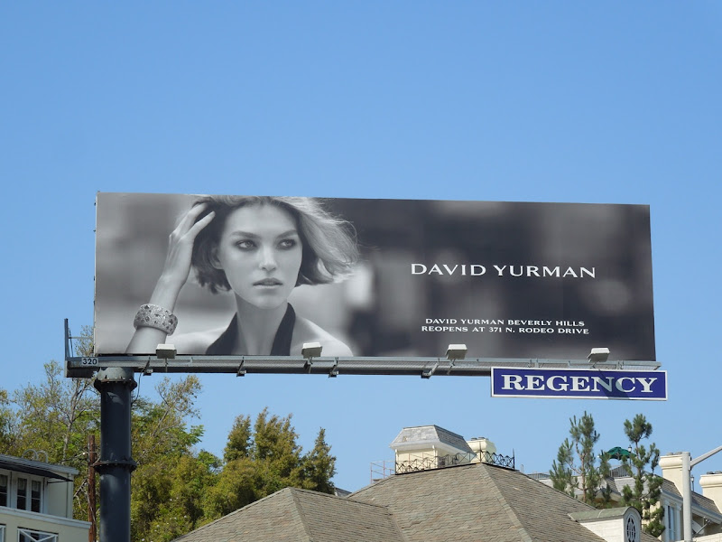 David Yurman Jewelry 2012 billboard