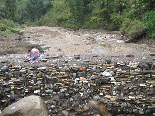 Vietnam countryside Sa Pa waterfall hiking rapids