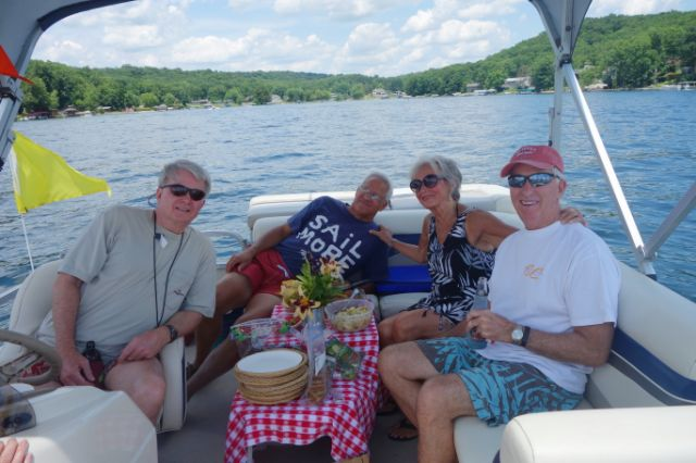 The Committee Boat became a gourmet lunch destination