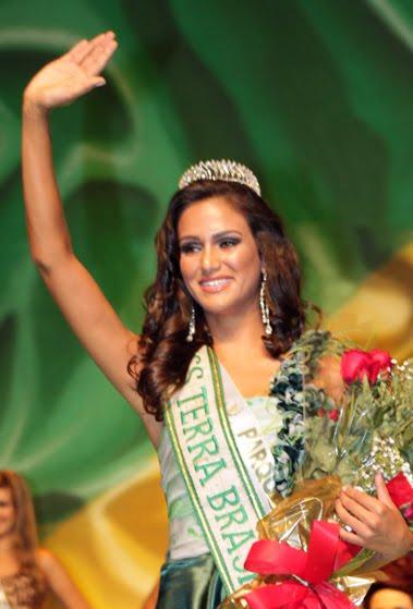 miss terra brazil 2011 winner,Driely Bennettone