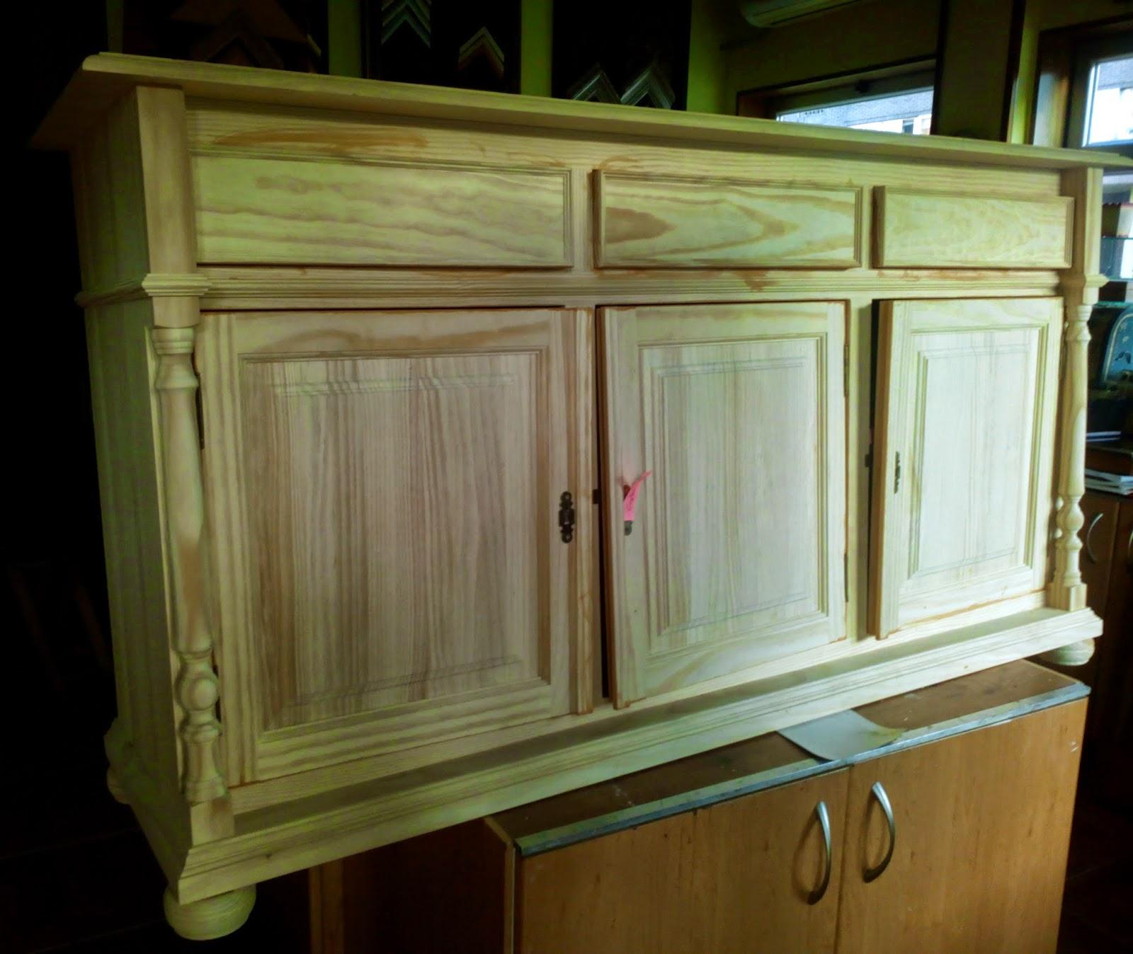 El taller de sarin blanco pintar un mueble aparador - Mueble aparador blanco ...