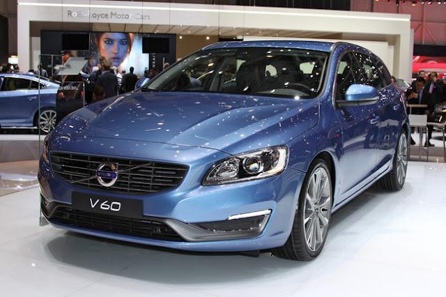 фотографии Volvo v60 2013