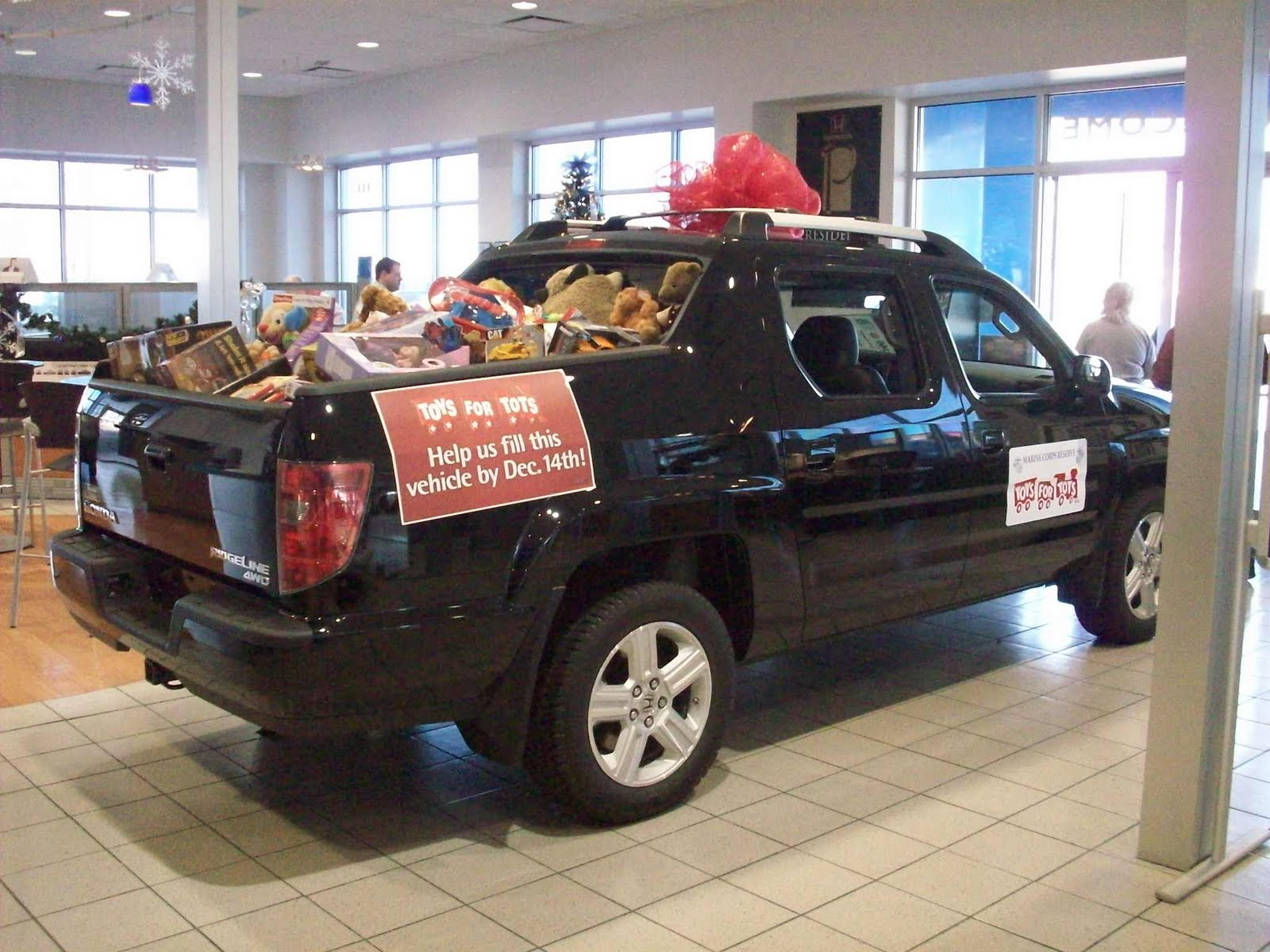 Honda Cars of Rock Hill Near Charlotte NC Toys for Tots