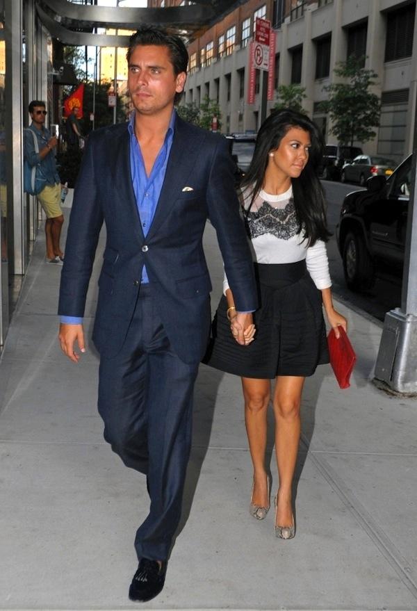 liviry�� ��fashion couple�� kourtney kardashian and scott disick