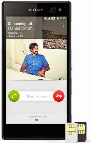 Sony Xperia C3 Dual Android Phone Harga Rp 3 Jutaan