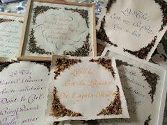 Exposition des calligraphies de Valérie MERLI jusqu'au 27 avril prochain..