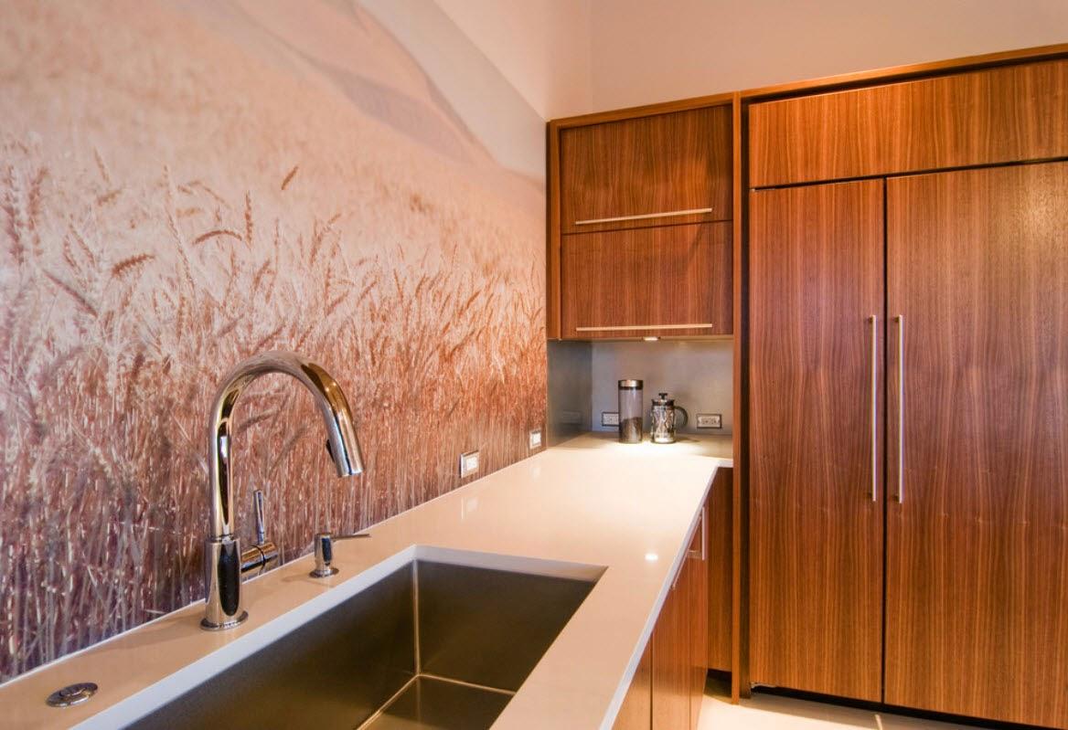 Tips Dekorasi Dinding Dapur Mungil 1