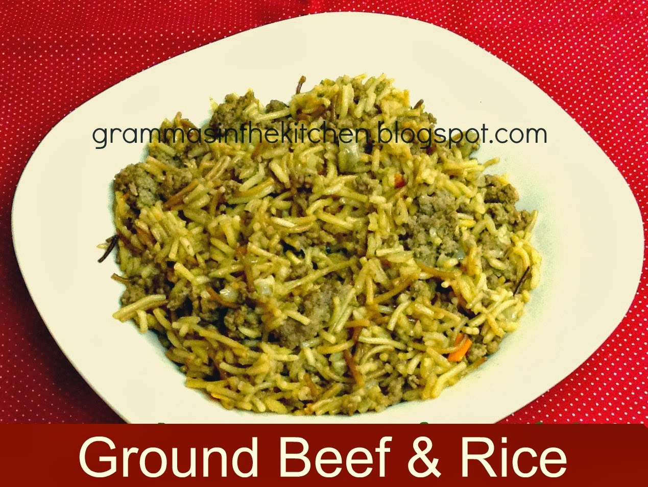 how to make homemade beef rice a roni