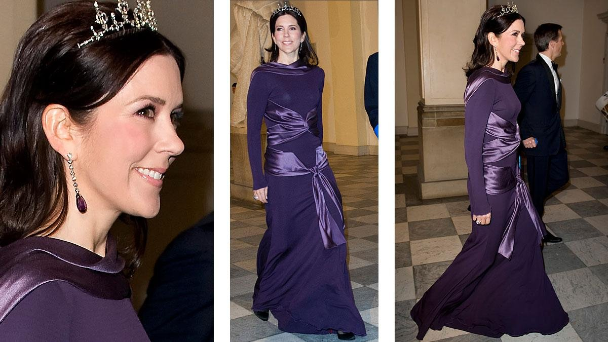 Amazing Princess Mary Evening Gowns Sketch - Wedding and flowers ...