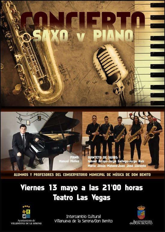 Concierto Saxo y Piano