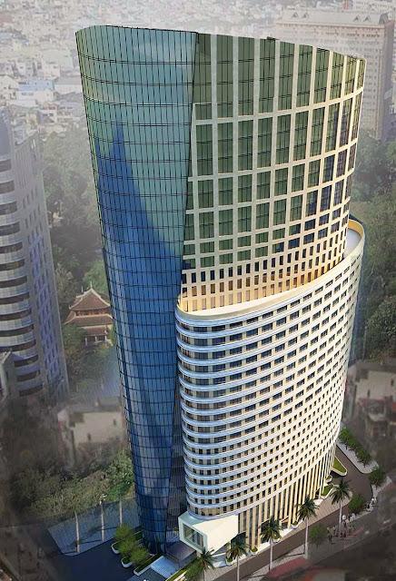 Phối cảnh dự án chung cư ellipse tower 110 trần phú