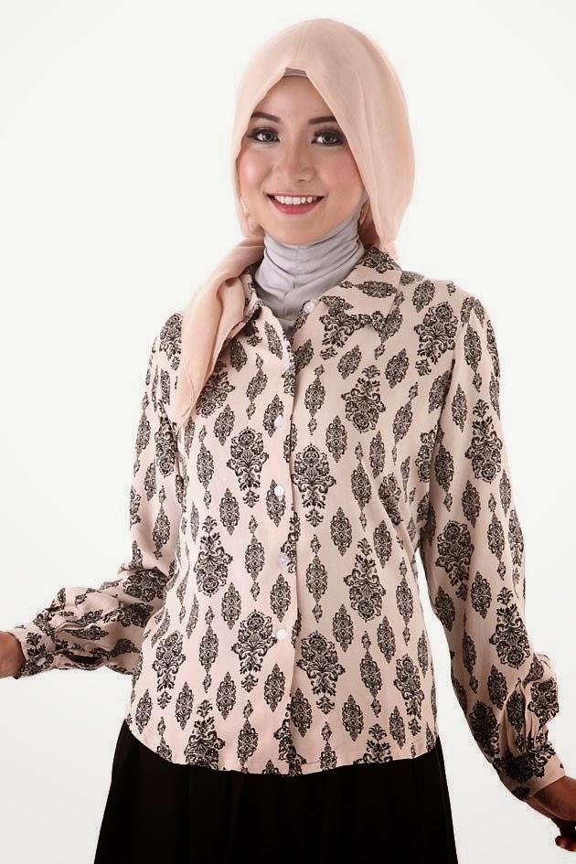 Baju Batik Muslim Wanita