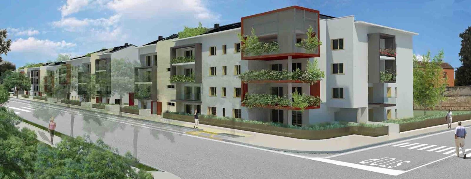 Riqualificazione passalacqua e santa marta le nuove for Progettazione di edifici residenziali