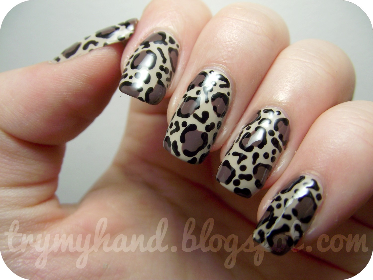 Leopard Print Nail Design Nail Designs Hair Styles Tattoos And