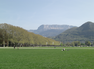 Annecy Park - by the lake
