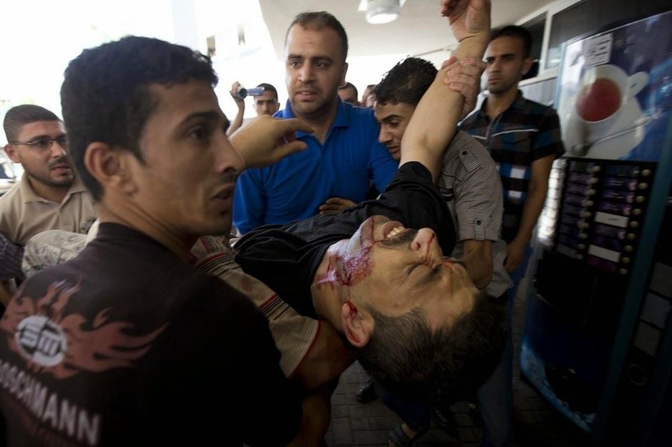 Israel comete um genocidio contra o povo palestino