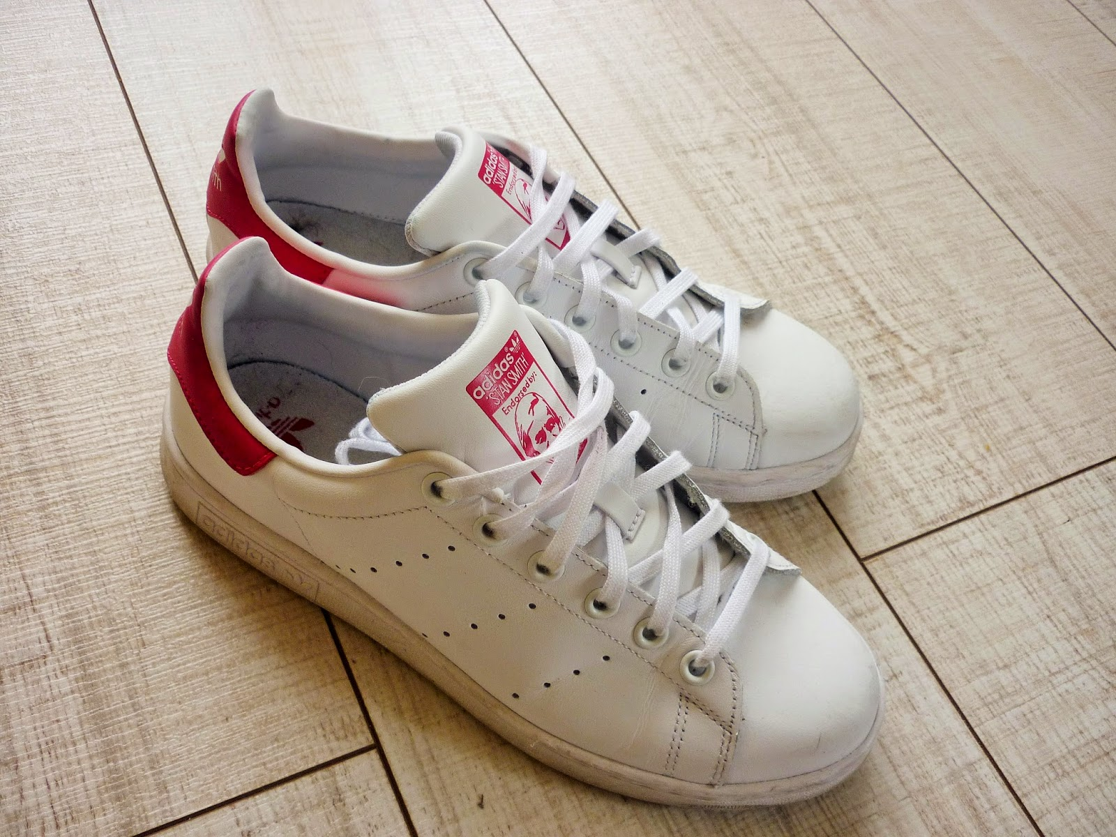 Adidas Stan Smith roses - baskets - shopping