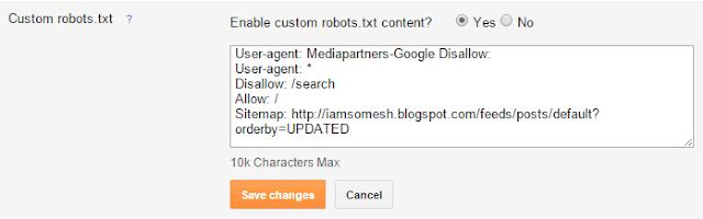 custom-robots-txt-blogger