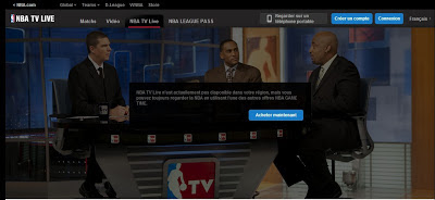 Comment regarder des matches NBA en direct en France