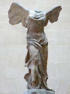 Victoria de Samotracia. Escultura Helenistica. Grecia
