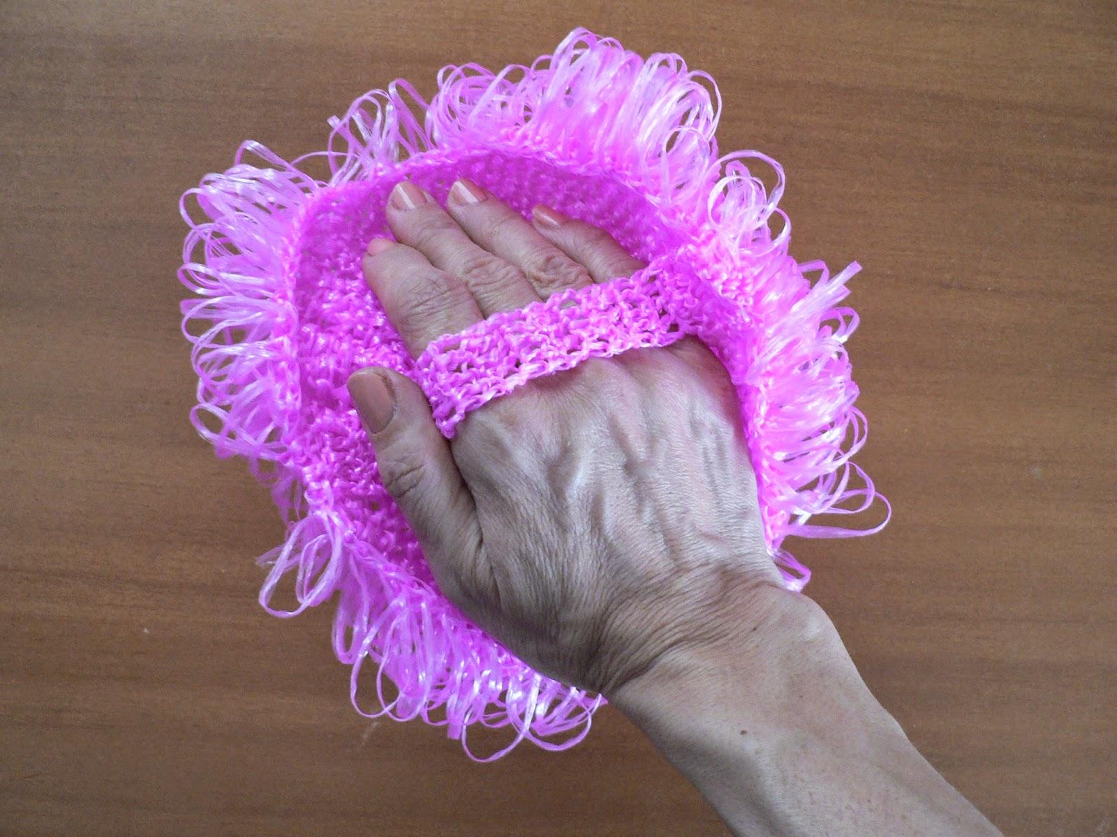 Все варианты вязания мочалок