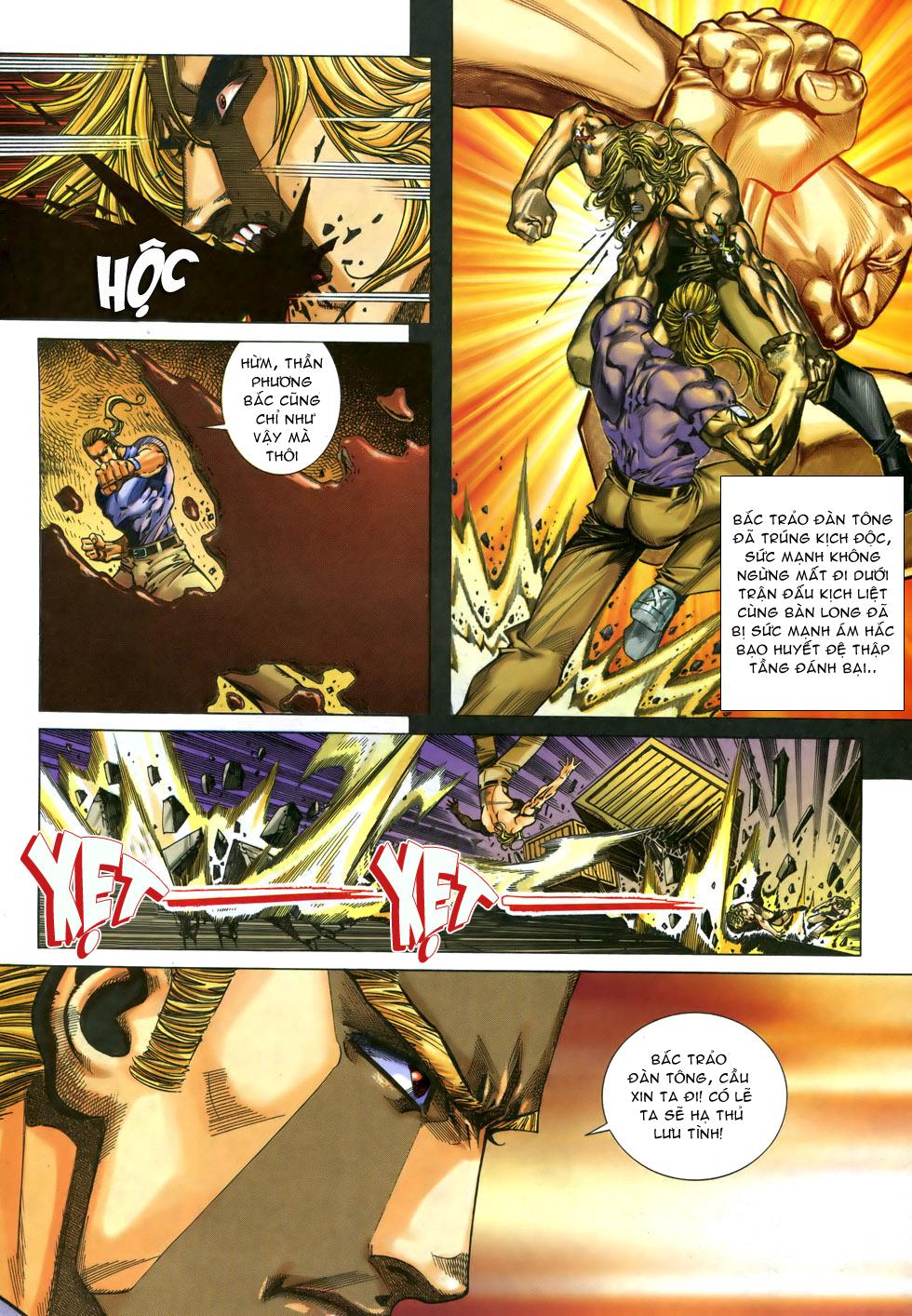 X Bạo Tộc chap 33 - Trang 3