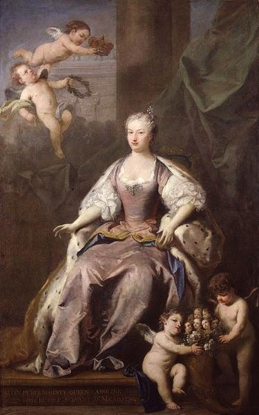 Caroline of Ansbach by Jacopo Amigoni, 1735