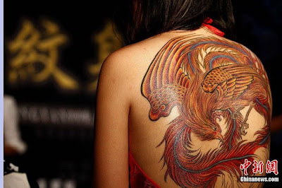 International Tattoo Convention em Beijing - Fénix