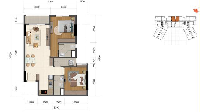 Dự án The Everrich Infinity Quận 5 căn hộ 2