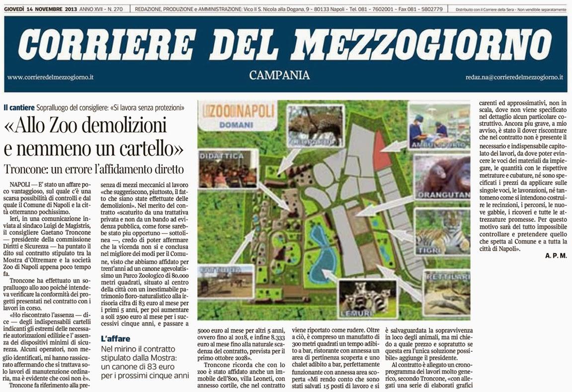 Arch gaetano troncone consigliere comunale napoli zoo di - Gh immobiliare napoli ...