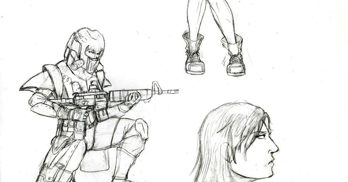 radical destroyer  proyecto odyssey  bocetos 2