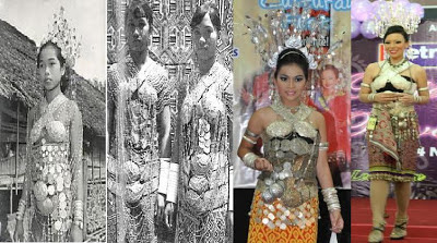 Beautiful Iban Women http://veekyleonora.blogspot.com/2012/11/old-iban-ngepan-making-their-comeback.html
