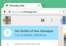 Notifikasi Pesan WhatsApp Di Komputer