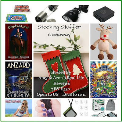 Enter the Stocking Stuffer Giveaway. Ends 11/11