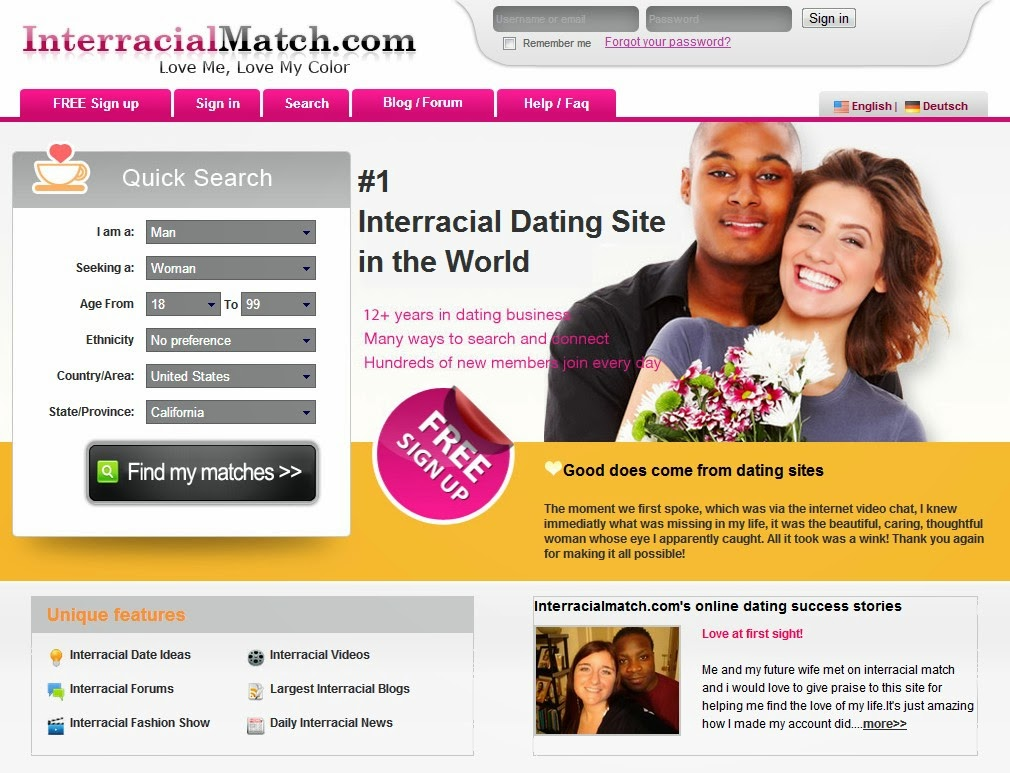 Interracial love seeker? You are not alone.