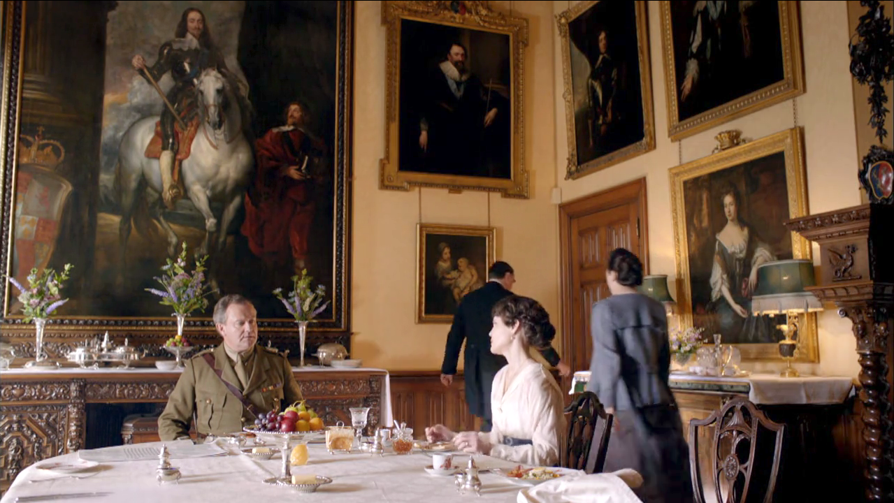 Downton Abbey Dining Room Painting
