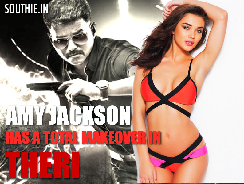 Amy Jackson in Theri would have a total makeover. Amy Jackson says that the audience would find it difficult to identify her in Theri. Hot Amy Jackson in Theri, Amy Jackson, Sensual, beautiful, Theri, Vijay, Thalapathy Vijay, Vijay 59, Theri, Vijay 60