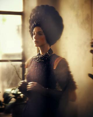 portrait mode photographie porodina haute couture magazine allemande
