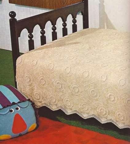 "#23 Colcha ""Girasoles"" a Crochet"