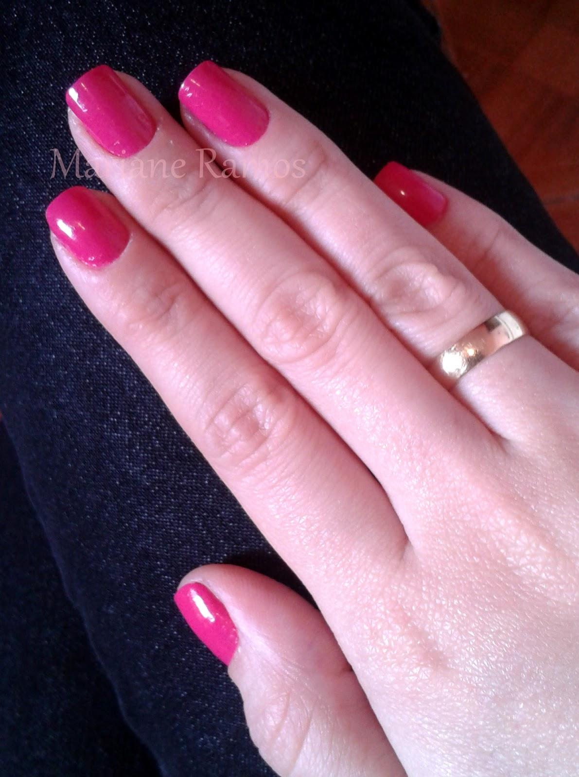 esmalte rosa pink colorama