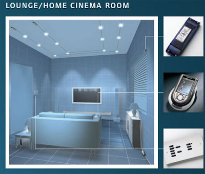Rako Wireless Lighting Controls in the Lounge or the Cinema Room
