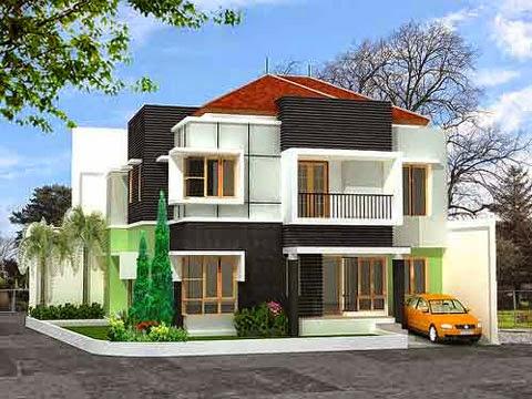 Contoh Desain Rumah Minimalis 06