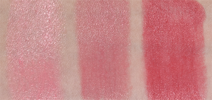 Maybelline The Blushed Nudes Lippenstift Swatches