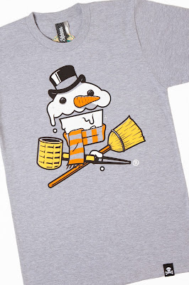 "Johnny Cupcakes ""Frosty Crossbones"" T-Shirt"