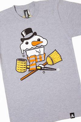 "Johnny Cupcakes ""Frosty Crossbones"" T-Shirt"