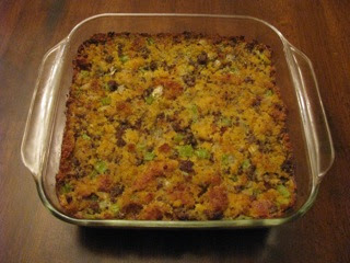 Element Food: Southern Style Cornbread Dressing - Gluten Free