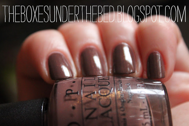 OPI Wooden Shoe like to Know - Close Up