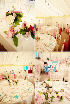 Elegant Vintage Wedding Reception Decor