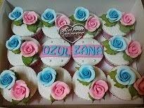 Cupcake fondant @ RM3.80/each