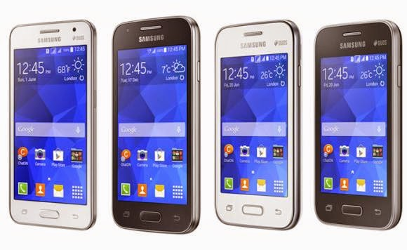 Samsung Galaxy Core II, Galaxy Ace 4, Galaxy Young 2 and Galaxy Star 2